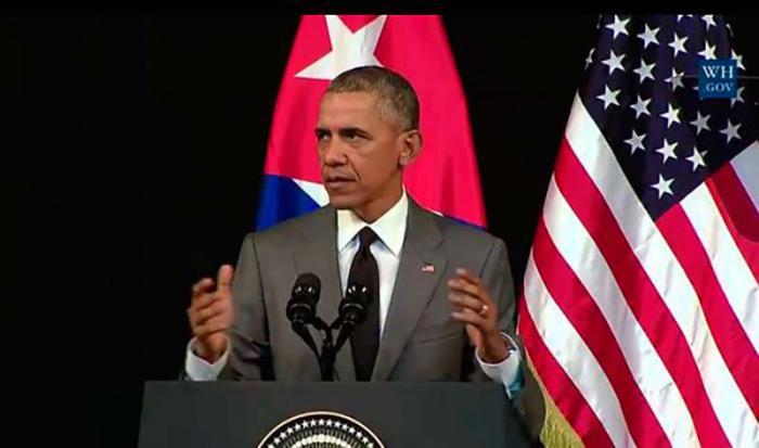 La Casa Blanca hizo pública la Declaración de Obama sobre la Política Cubana de Inmigración.