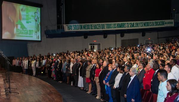 Más de dos mil delegados cubanos y foráneos asisten a Pedagogía 2017. (Foto: ACN)