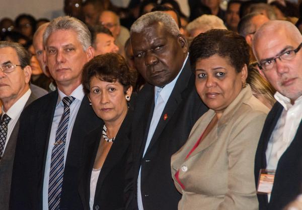 Miguel Díaz-Canel Bermúdez presidió el acto de inauguración de Pedagogía 2017. (Foto: ACN)