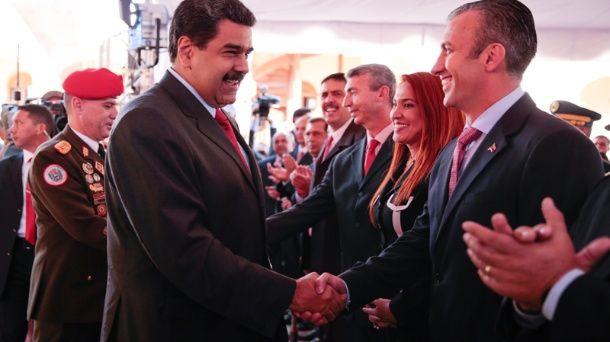Maduro anunció cambios en 11 ministerios, luego de nombrar como Vicepresidente Ejecutivo a Tareck El Aissami.