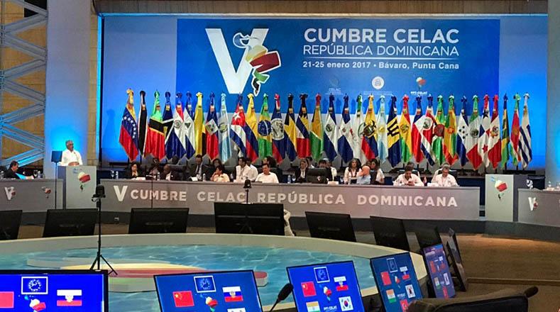 cuba, fidel castro, celac, republica dominicana, v cumbre de la celac, raul castro