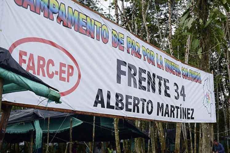 La adecuación de los nuevos campamentos de las FARC-EP requiere de un esfuerzo adicional.