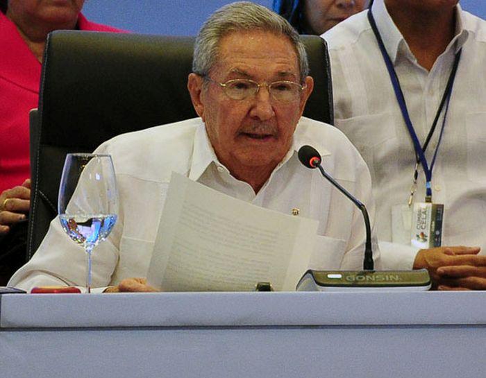 cuba, raul castro, V cumbre de la celc, republica dominicana