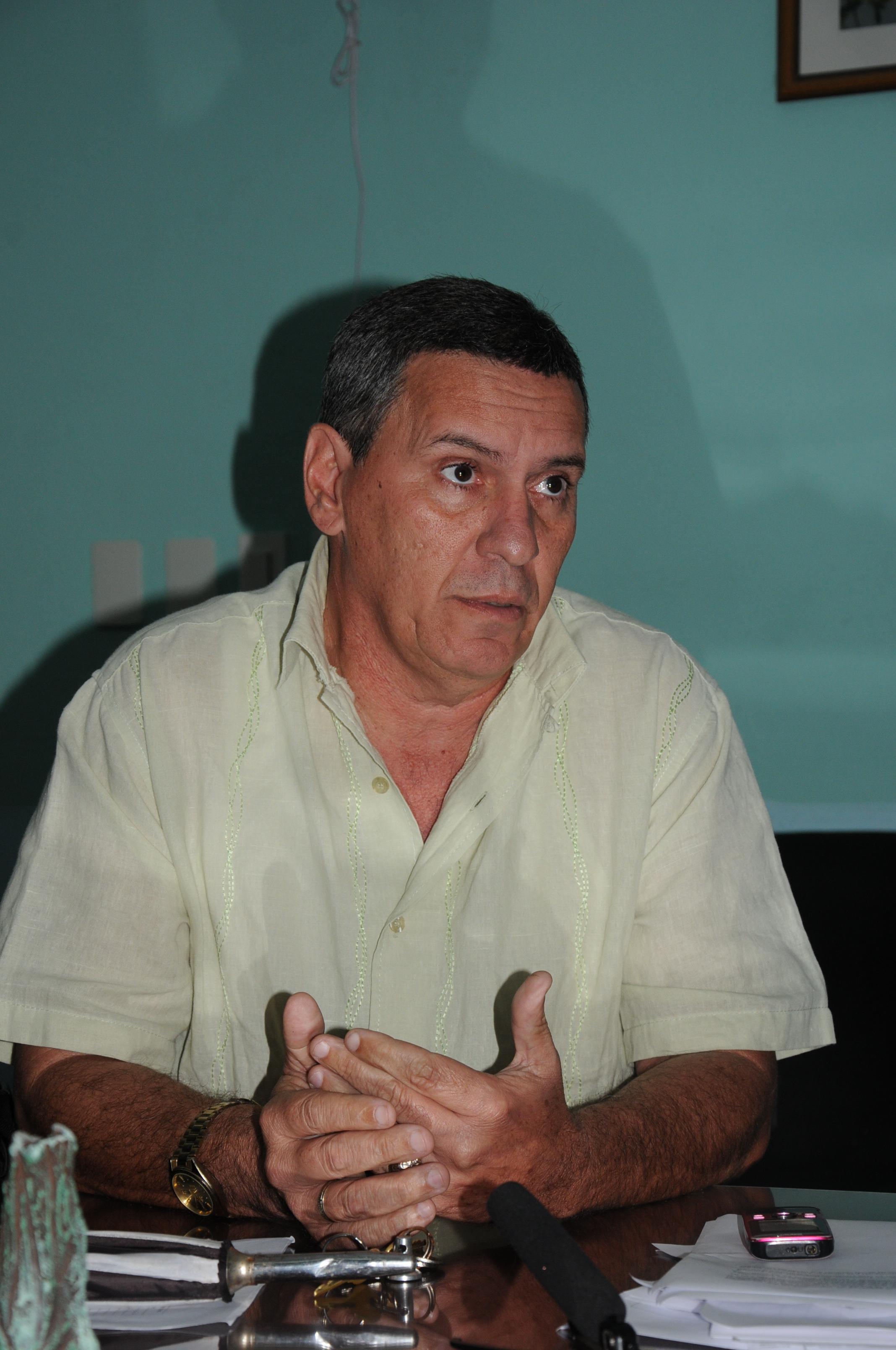 Edelberto Cancio, director provincial de Educación.