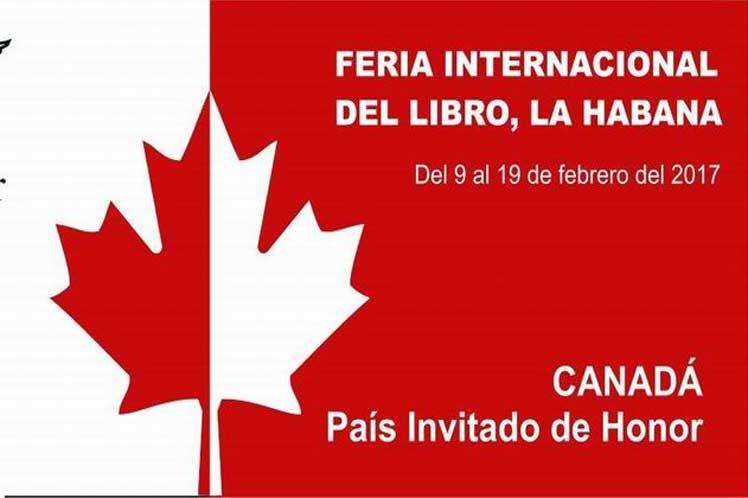 Canadá será el país invitado de honor de esta Feria.