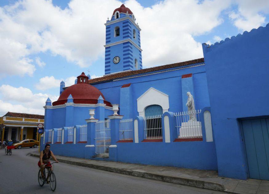 sancti spiritus, patrimonio, iglesia parroquial mayor