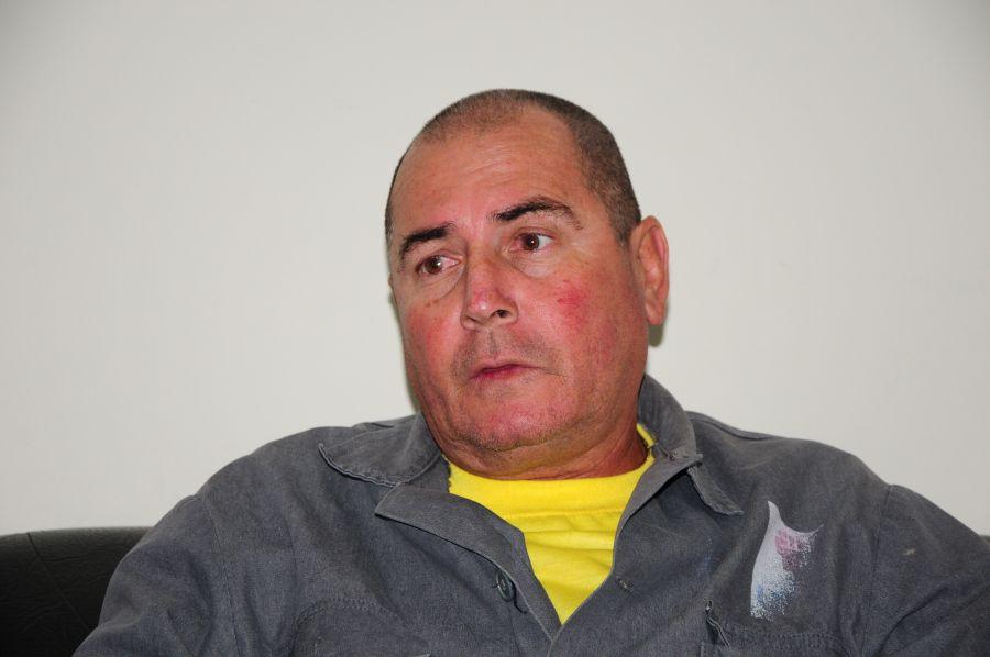 Juan Enrique Tojo asegura que la seguridad de los hombres es primordial. (Foto: Vicente Brito / Escambray)