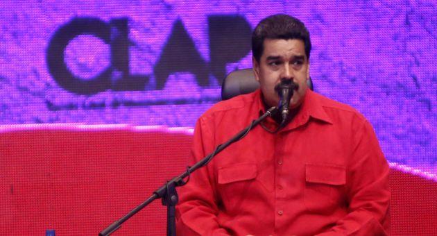 Maduro indicó que los Comités Locales de Abastecimiento y Producción son la herramienta para el impulso de una nueva economía productiva dirigida por el Poder Popular. (Foto: AVN)