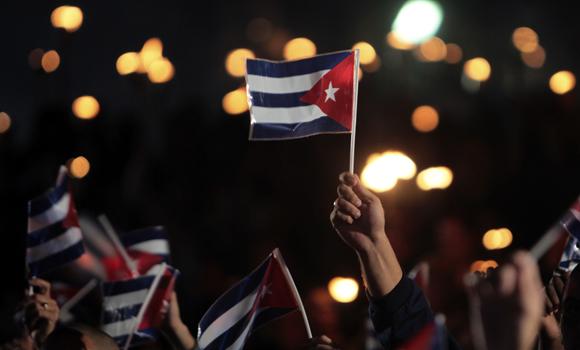 Marcha de las Antorchasen La Habana. (Foto: Cubadebate)