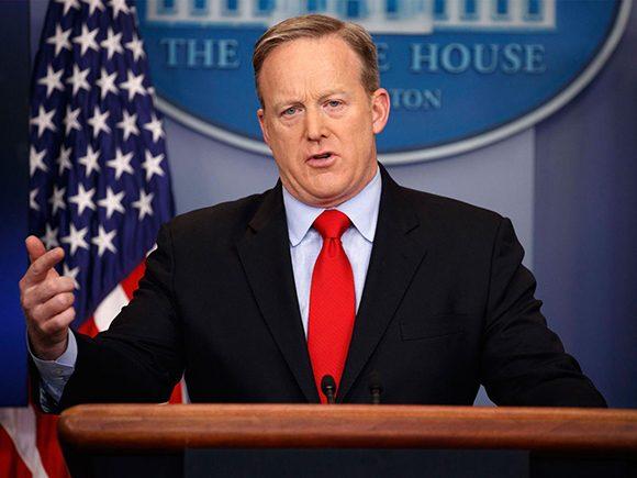 Los comentarios de Spicer representan la primera vez que la Casa Blanca se refiere a Cuba de manera oficial tras la llegada al poder de trump. (Foto: PL)