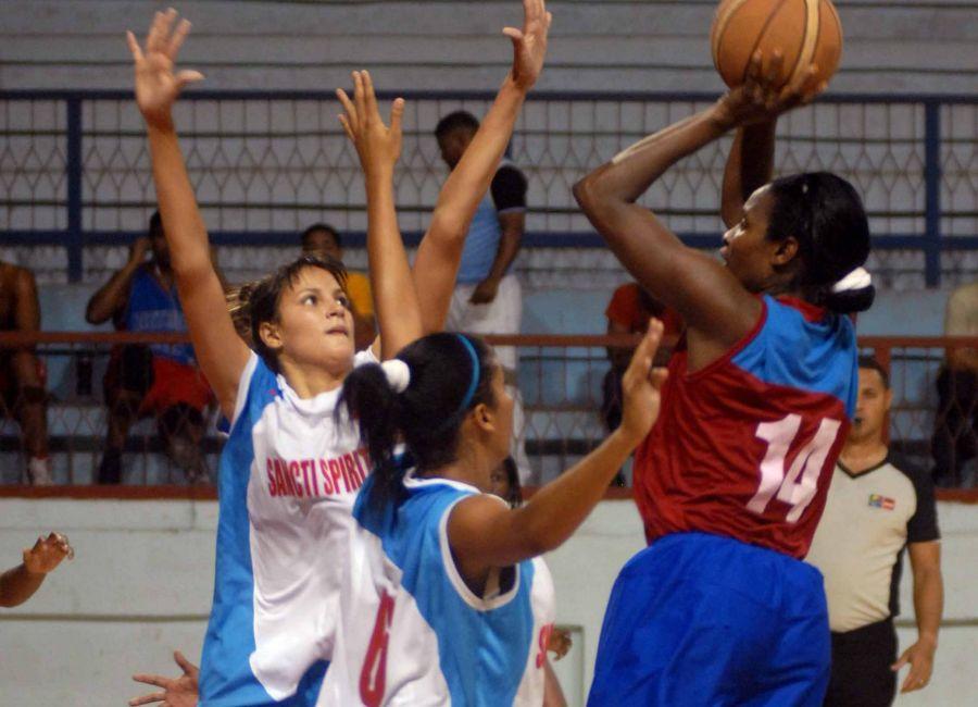 sancti spiritus, baloncesto femenino