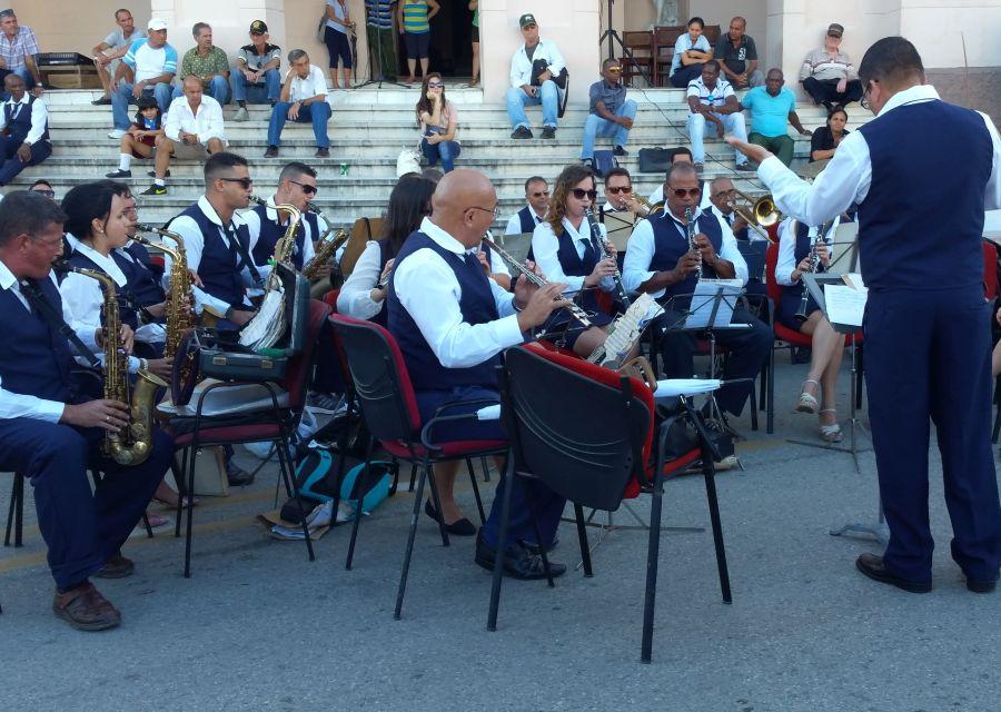 sancti spiritus, música, banda de música