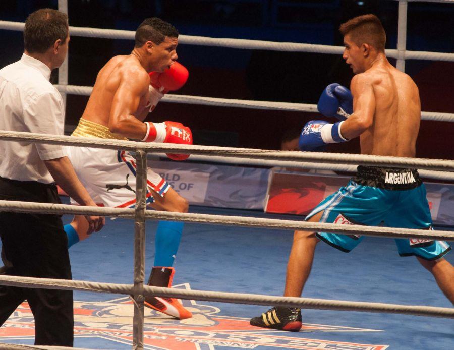 sancti spiritusm boxeo, serie mundial de boxeo, yosbany veitia, domadores de cuba