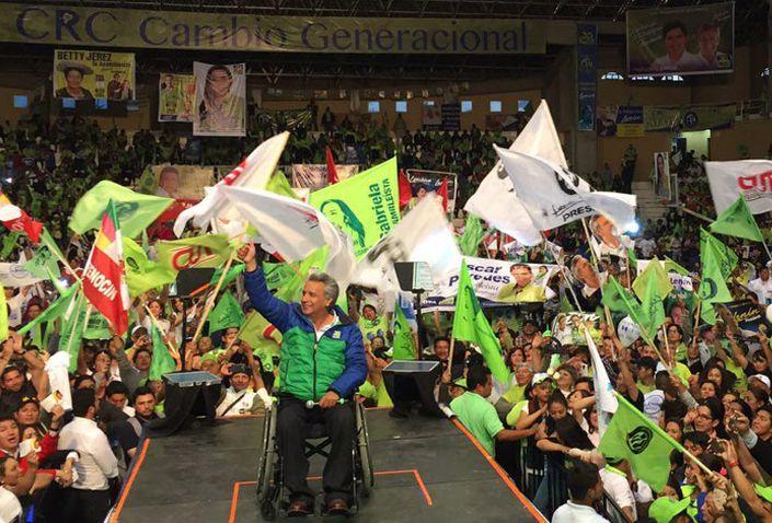 ecuador, elecciones en ecuador, rafael correa, revolucion ciudadana