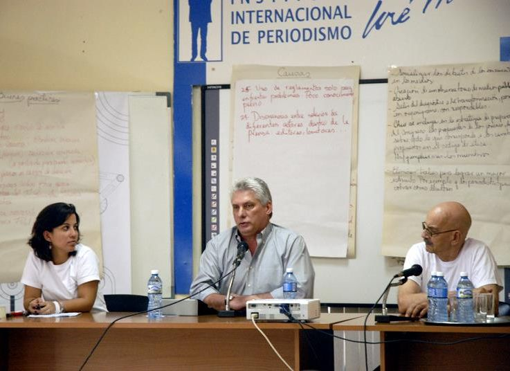 cuba, periodismo, union de periodistas de cuba, upec, miguel diaz-canel
