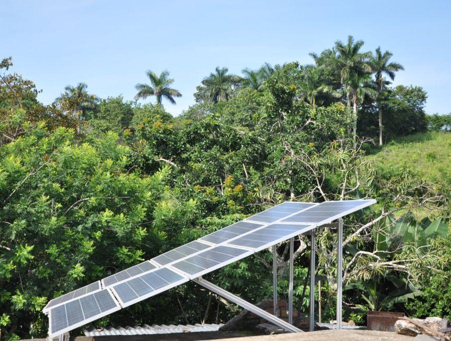 sancti spiritus, paneles solares, asamblea provincial del poder popular, energia renovable