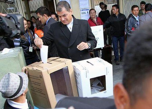 ecuador, elecciones en ecuador, rafael correa