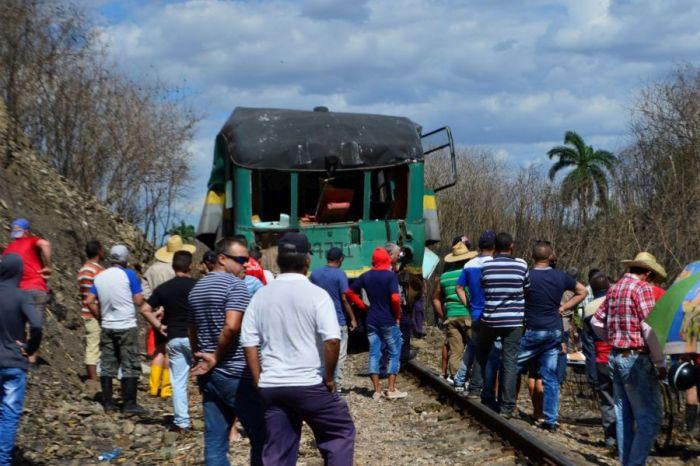 accidente ferroviario, Sancti Spíritus