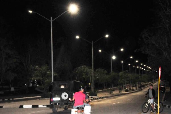 alumbrado público, electricidad, LED