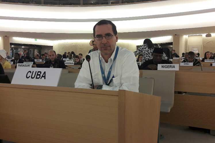Cuba. ONU, derechos humanos