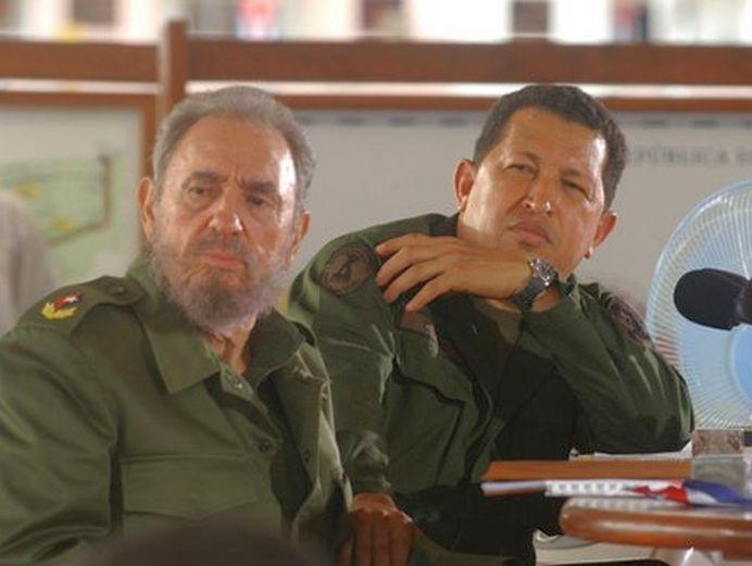 Fidel Castro Hugo Chávez Y El Alba Escambray