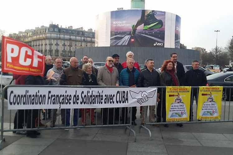 bloqueo, EE.UU., Cuba, Francia