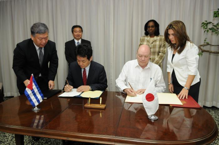Cuba, Japón, Comercio exterior