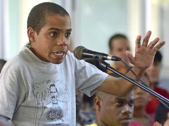 jóvenes, Martí, UJC Cuba, Yusuam