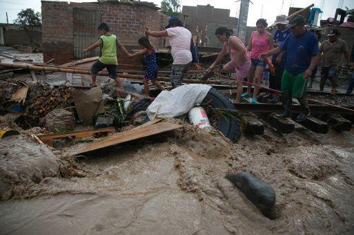 Perú, lluvias, daños, América Latina, solidaridad