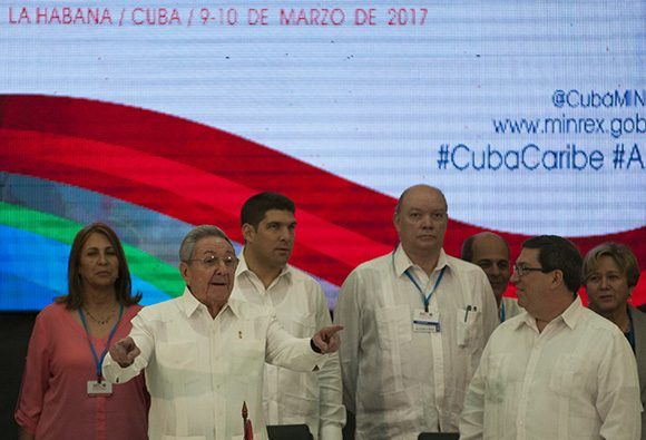 AEC, Caribe, Cuba, Raúl Castro
