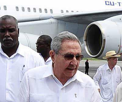Raúl, Alba, Caracas. Cuba