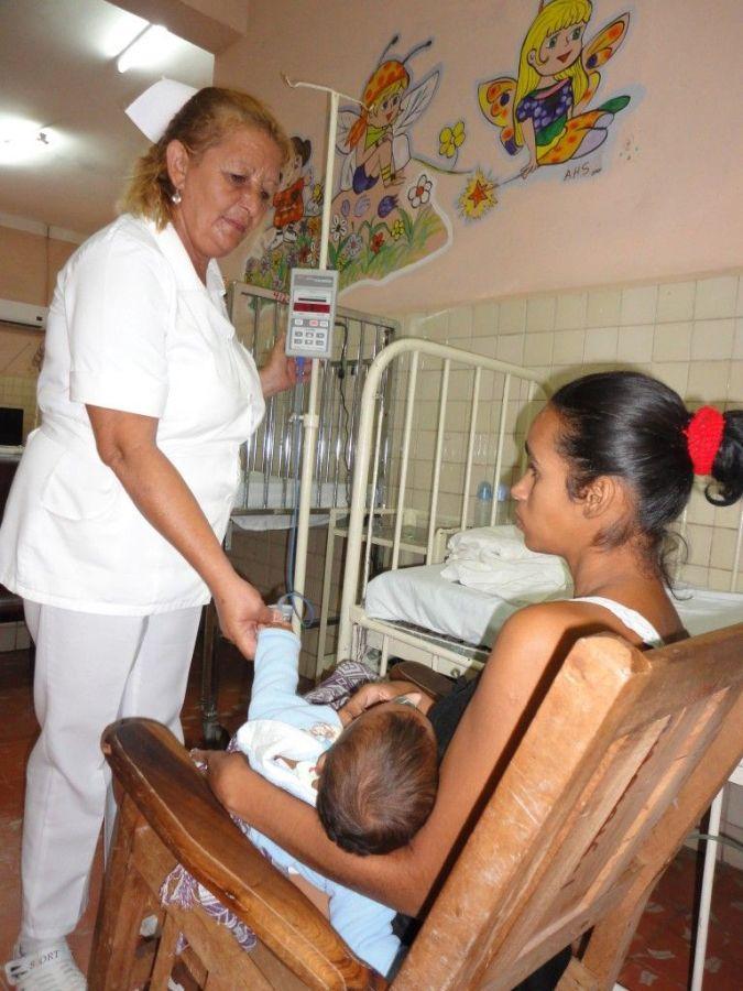 sancti spiritus, trinidad, enfermera, pediatria, salud publica