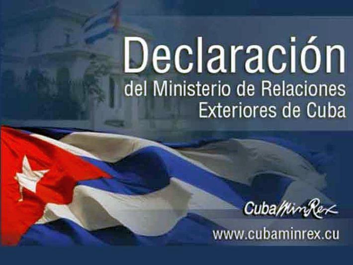 cuba, minrex, ministerio de relaciones exteriores, venezuela, oea