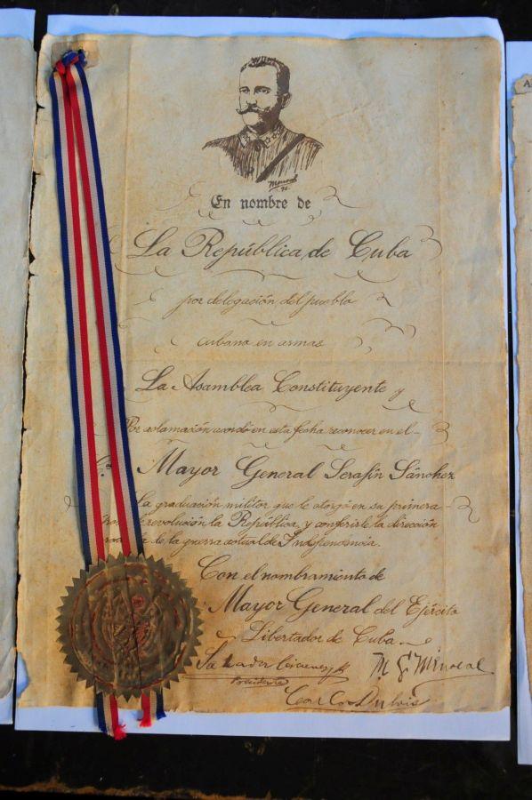 sancti spiritus serafin sanchez, patrimonio, historia de cuba