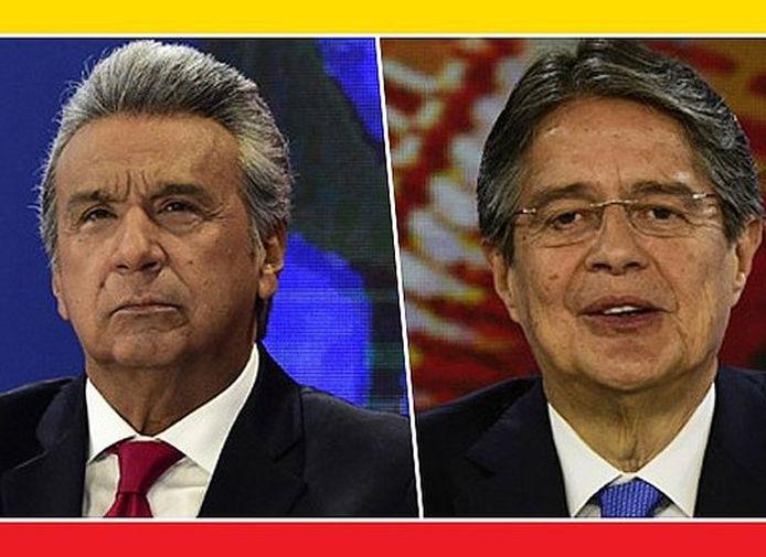 Ecuador, elecciones, Lenín Moreno, Gillermo Lasso