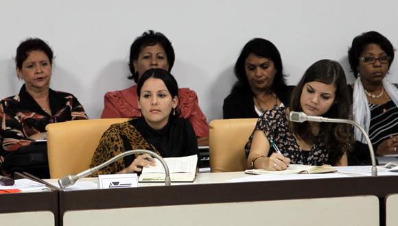 Mujeres, Onu, Parlamento, Cuba