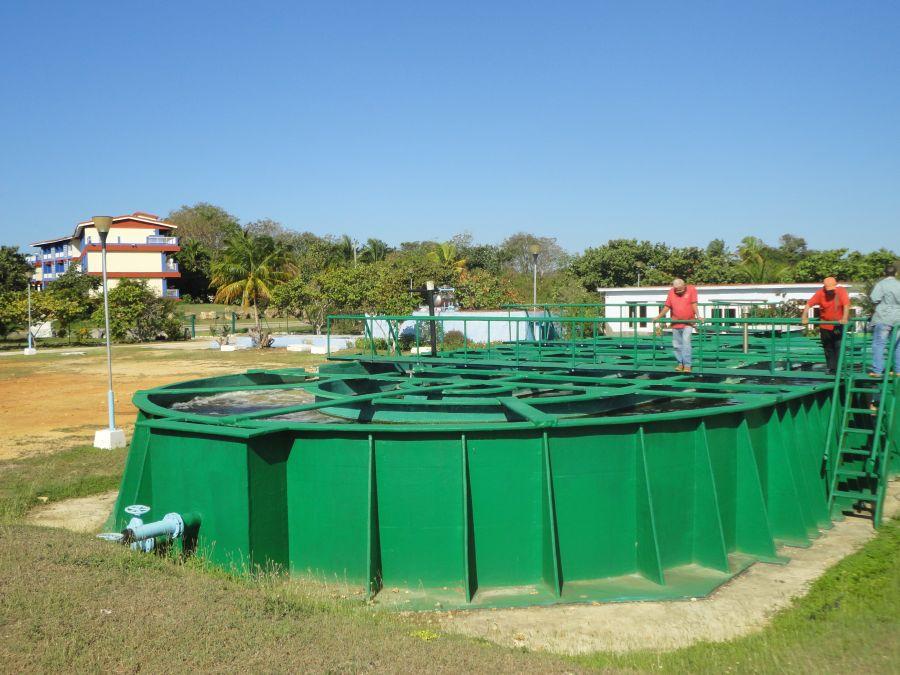 sancti spiritus, turismo, trinidad, planta de tratamiento de residuales, acueducto