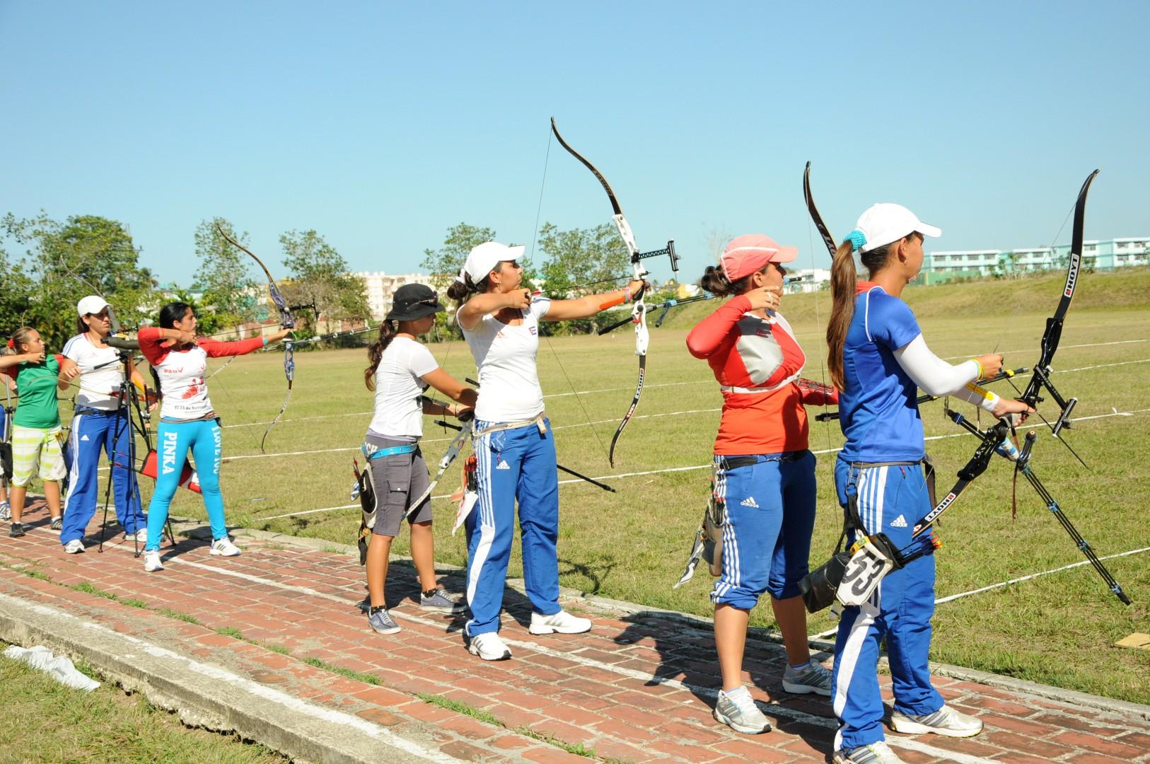 tiro con arco, Sancti Spíritus, Cuba