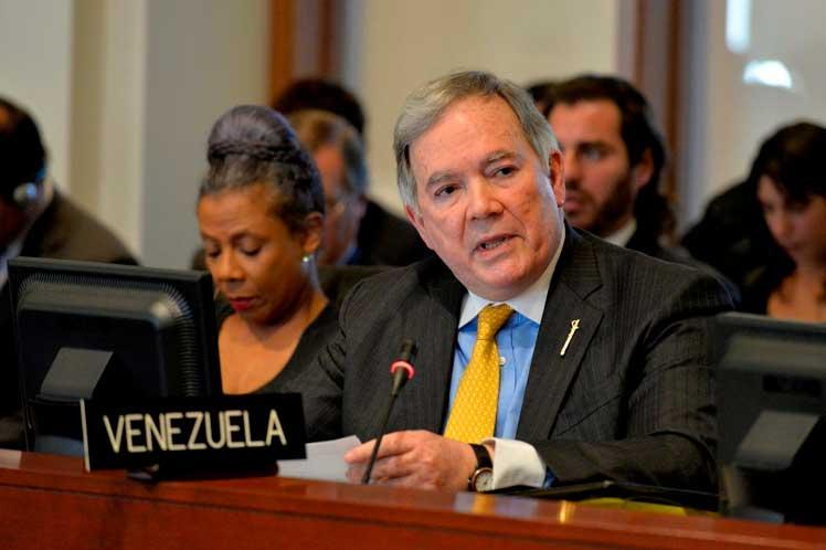 Roy Chaderton, Venezuela, OEA