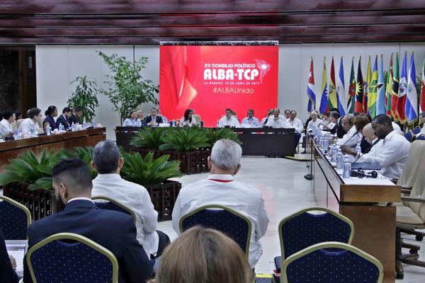 ALBA, TCP, CUBA, NICARAGUA, EE.UU., SOLIDARIDAD