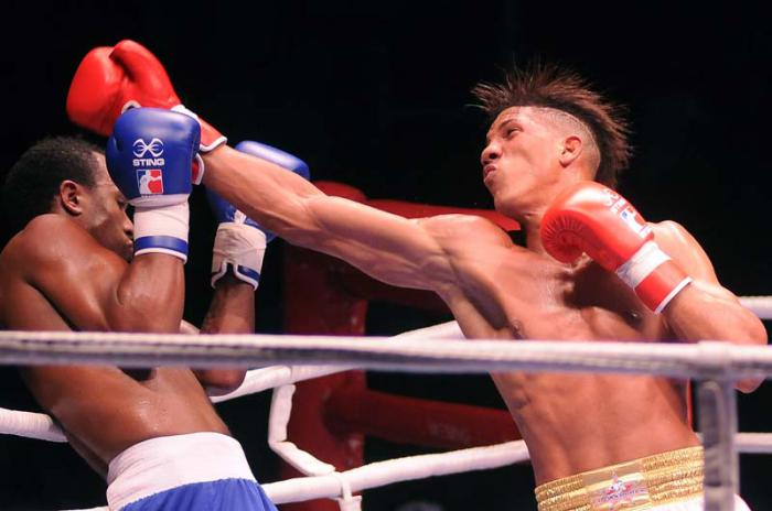 Boxeo, Serie Mundial, Cuba, Colombia