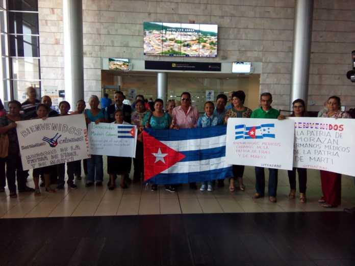 Honduras, Cuba, médicos, solidaridad