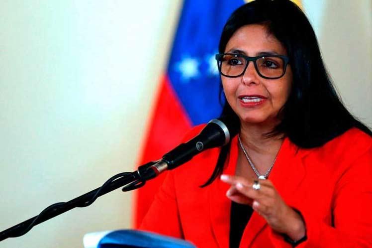 Delcy Rodríguez, Venezuela, OEA