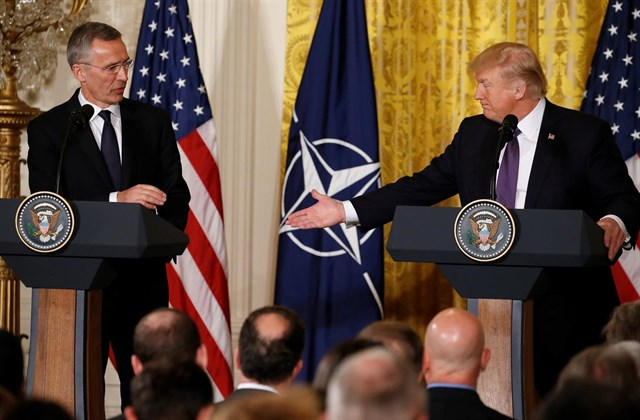 Donald Trump, OTAN, Estados Unidos