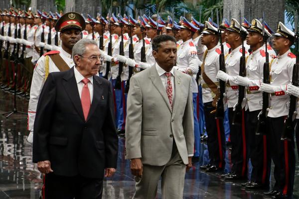 Cuba, Seychelles, Raúl Castro