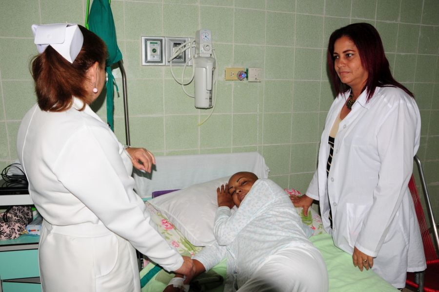 sancti spiritus, oncologia, cancer, salud publica, hospital camilo cienfuegos