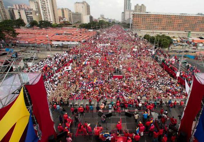 Venezuela, Nicolás Maduro, chavistas
