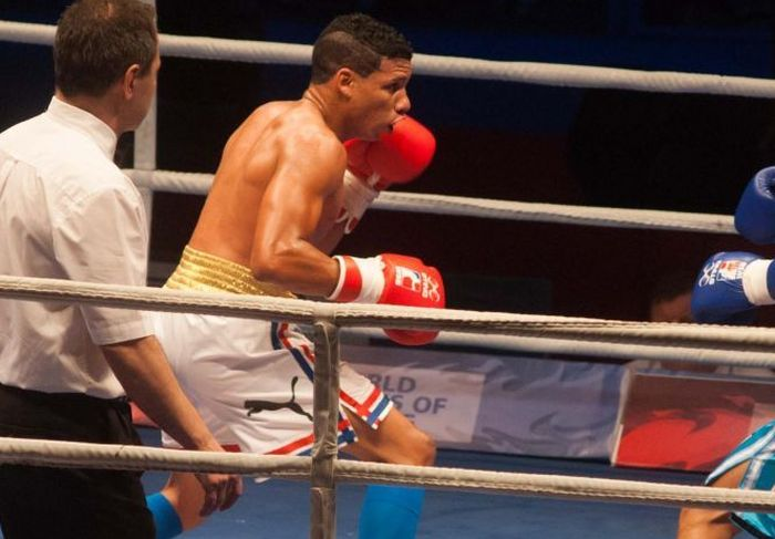 sancti spiritus, serie mundial de boxeo, domadores de cuba, yosbany veitia