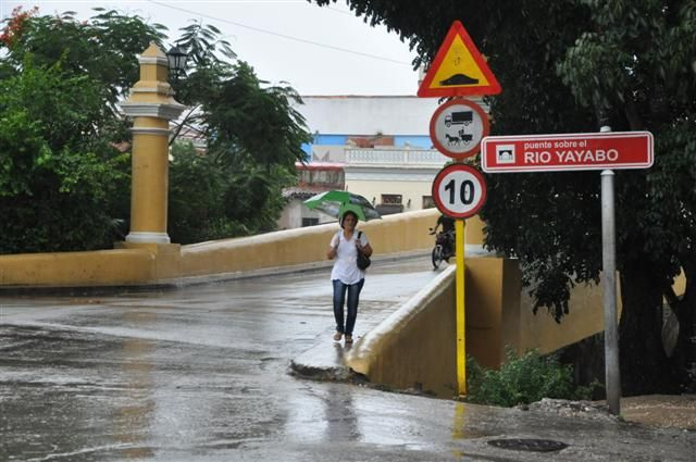 sequía, lluvia, Sancti Spíritus, presa Zaza