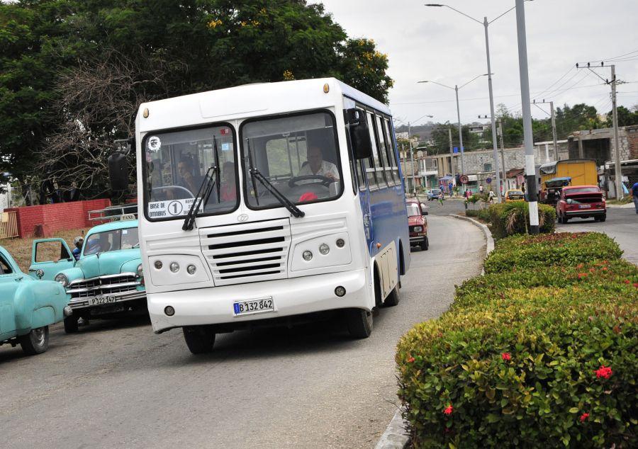 sancti spiritus, omnibus urbanos, transporte urbano